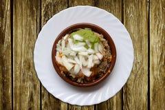 Gofio tipical jedzenie wyspy kanaryjska Fotografia Stock