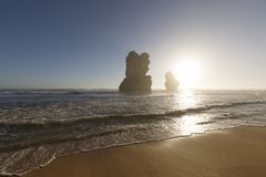 Gog e Magog, grande strada dell'oceano, Australia Immagine Stock Libera da Diritti