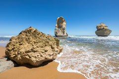 Gog and Magog, Gibson Steps beach, Great Ocean Road, Victoria, Australia Stock Photography