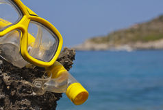 Goggle and Snorkel Stock Photos