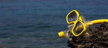 Swimming Mask Goggle Snorkel royalty free stock photos