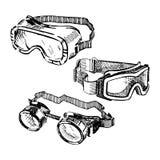 goggles Fotografie Stock