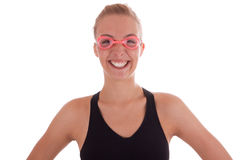 The goggles Royalty Free Stock Photos