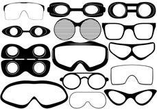 Goggles Arkivbilder