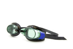 Goggles. Dive goggles, isolated on white background stock images
