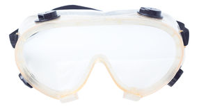 Goggles for construction on a Royalty Free Stock Images