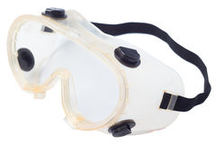 Goggles for construction Royalty Free Stock Images