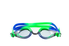 Goggles glasses isolated on white background stock image