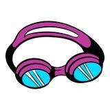 Goggles for swim icon, icon cartoon Stock Image