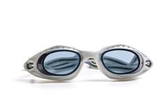 Goggles for swimming. Isolated on a white background royalty free stock photography