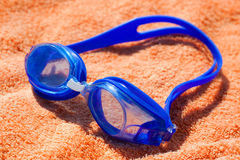 Goggles for swimming Royalty Free Stock Photography