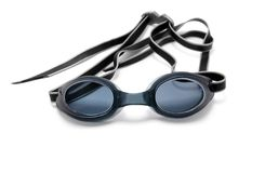 Goggles for swimming Stock Images