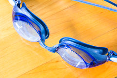 Goggles for swimming Stock Image