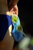 goggles02游泳 免版税库存照片