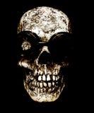 gogle czaszka Fotografia Stock