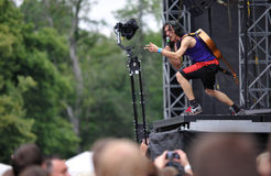 Gogol Bordello Royalty Free Stock Photo