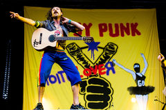 Gogol Bordello Royalty Free Stock Images