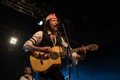 Gogol Bordello at Live Music Club MI 02-12-2017. Milan, Italy. 02 December 2017. American band Gogol Bordello performs at Live Music Club. Brambilla Simone Stock Images
