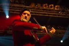 Gogol Bordello at Live Music Club MI 02-12-2017. Milan, Italy. 02 December 2017. American band Gogol Bordello performs at Live Music Club. Brambilla Simone Royalty Free Stock Photos