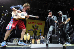 Gogol Bordello Royalty Free Stock Image