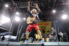 Gogol Bordello Royalty Free Stock Photography