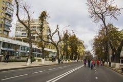 Gogol street  at Krasnodar Royalty Free Stock Photo
