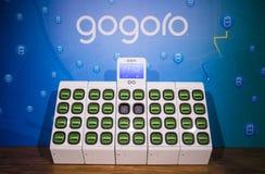 Gogoro`s GoStation royalty free stock photos