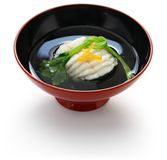 Gohan, cooked white rice, japanese staple food Royalty Free Stock Photo