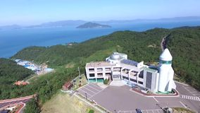Goheung Space Astronomical Museum. South Korea,Asia when Oct-17-2017 stock video footage