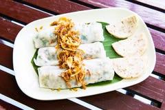 Goi Cuon, Vietnamese verse de lentebroodjes Stock Afbeelding