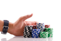 Free Going All In Royalty Free Stock Photo - 19060355