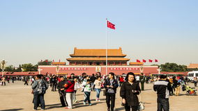 Going closer to the Tiananmen Square