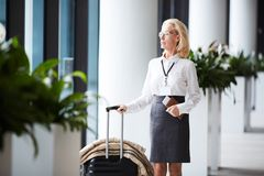 Going for departure royalty free stock photo
