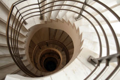 Going down. Stairs Royalty Free Stock Photography