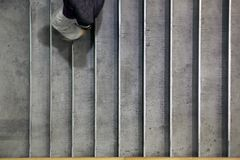 Going down the steps Royalty Free Stock Photos