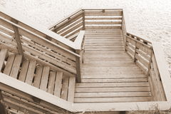 Going down to the beach Royalty Free Stock Photography
