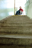 Going downstairs Royalty Free Stock Images