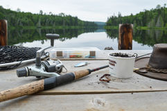 Going fishing Stock Photography