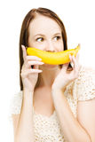 Going Fruity And Bananas Stock Image