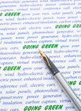 Going green. Royalty Free Stock Photography