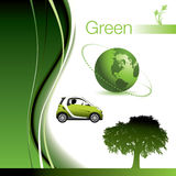 Going green elements Stock Photography