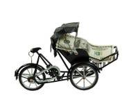 Going Green Rickshaw Royalty Free Stock Image