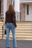 Going Home. Rich, young woman going home to mansion Stock Images