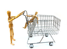 Going Shopping Stock Photo