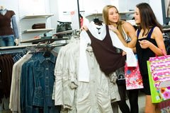 Going shopping Stock Images