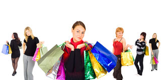 We are going shopping Stock Image