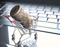 Going Shopping Royalty Free Stock Photography