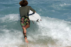 Going Surfing Stock Image