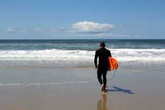 Going Surfing Royalty Free Stock Photography