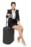 Going to business trip Stock Photography
